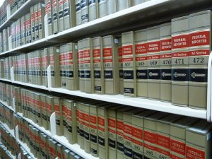 Law library books by Janet Lindenmuth