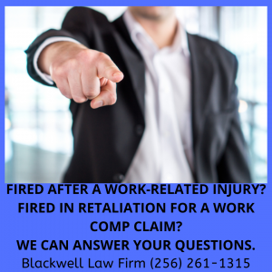 Alabama Lawyers For Injured Workers