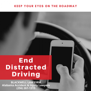 Alabama Distracted Driving Lawyers